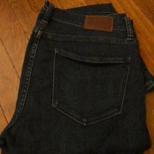 MADEWELL Skinny Skinny Navy Jeans